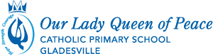 Our Lady Queen of Peace Catholic Primary School Gladesville Logo